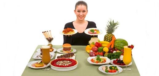 Comida saludable y chatarra - Imagui