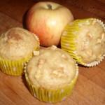 muffins manzana y miel