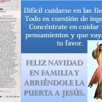 REVISTA VIVA CLARIN- CUIDARSE EN LAS FIESTAS