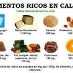 alimentos no lacteos aportan calcio