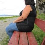 obesa pensando
