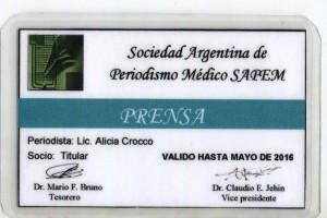 CREDENCIAL P.M. LIC. ALICIA CROCCO ( 2)