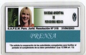 CREDENCIAL PERIODISMO MÉDICO LIC ALICIA CROCCO (1)