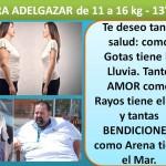 PARA ADELGAZAR DE 11 A 16 kg. -  13° día