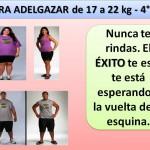 PARA ADELGAZAR DE 17 A 22 kg. -4 día