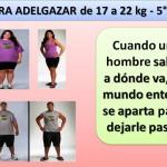 PARA ADELGAZAR DE 17 A 22 kg. -5 día