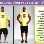 PARA ADELGAZAR DE 23 AL 27 kg. - 2 día
