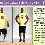 PARA ADELGAZAR DE 23 AL 27 kg. -4 día