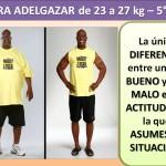PARA ADELGAZAR DE 23 AL 27 kg. -5 día