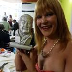 Con el premio Héctor Florencio Lucero