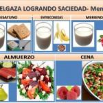 ADELGAZA LOGRANDO SACIEDAD- Menú 3
