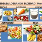 ADELGAZA LOGRANDO SACIEDAD- Menú 4