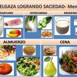 ADELGAZA LOGRANDO SACIEDAD- Menú 5