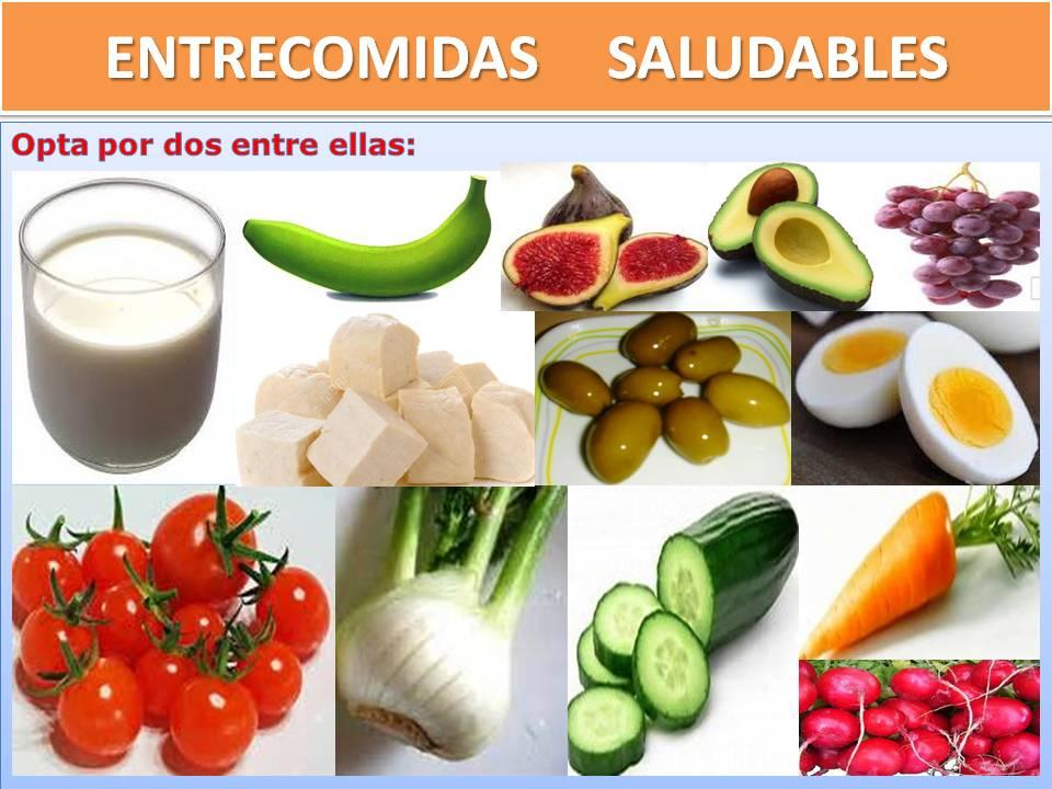 ENTRECOMIDAS SALUDABLES