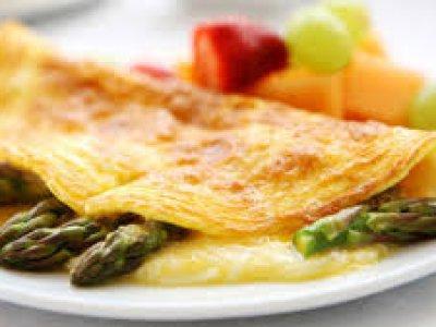 omelet de esparragos