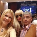 Con Gladys y el Dr. Ricardo Sosa- Penalista, Ternado por su programa de TV