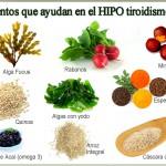 hipotiroidismo y alimentacion